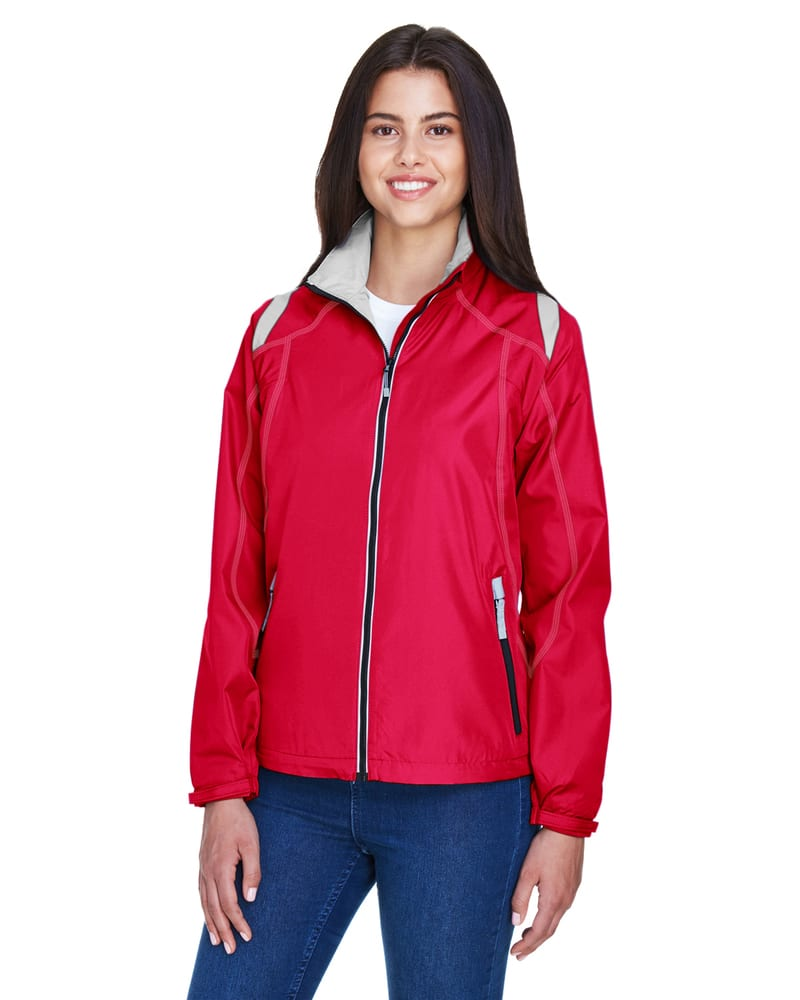 Ash City North End 78076 - Ladies' Endurance Lightweight Color-Block Jacket