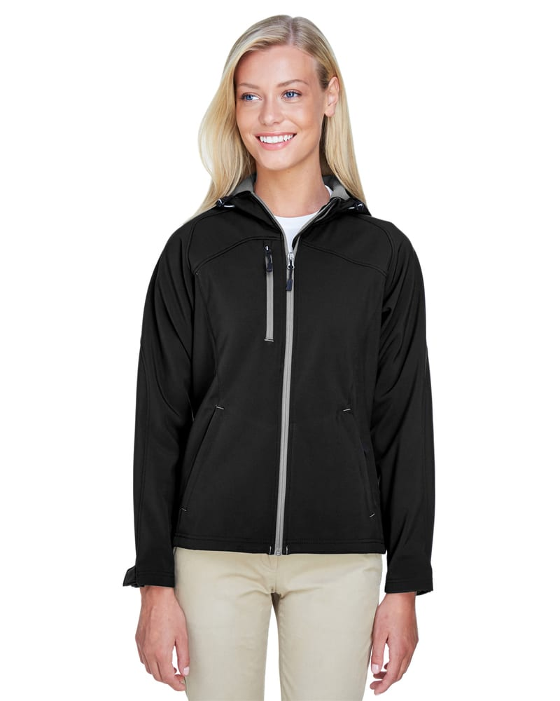 Ash City North End 78166 - ProspectLadies' Soft Shell Jacket With Hood