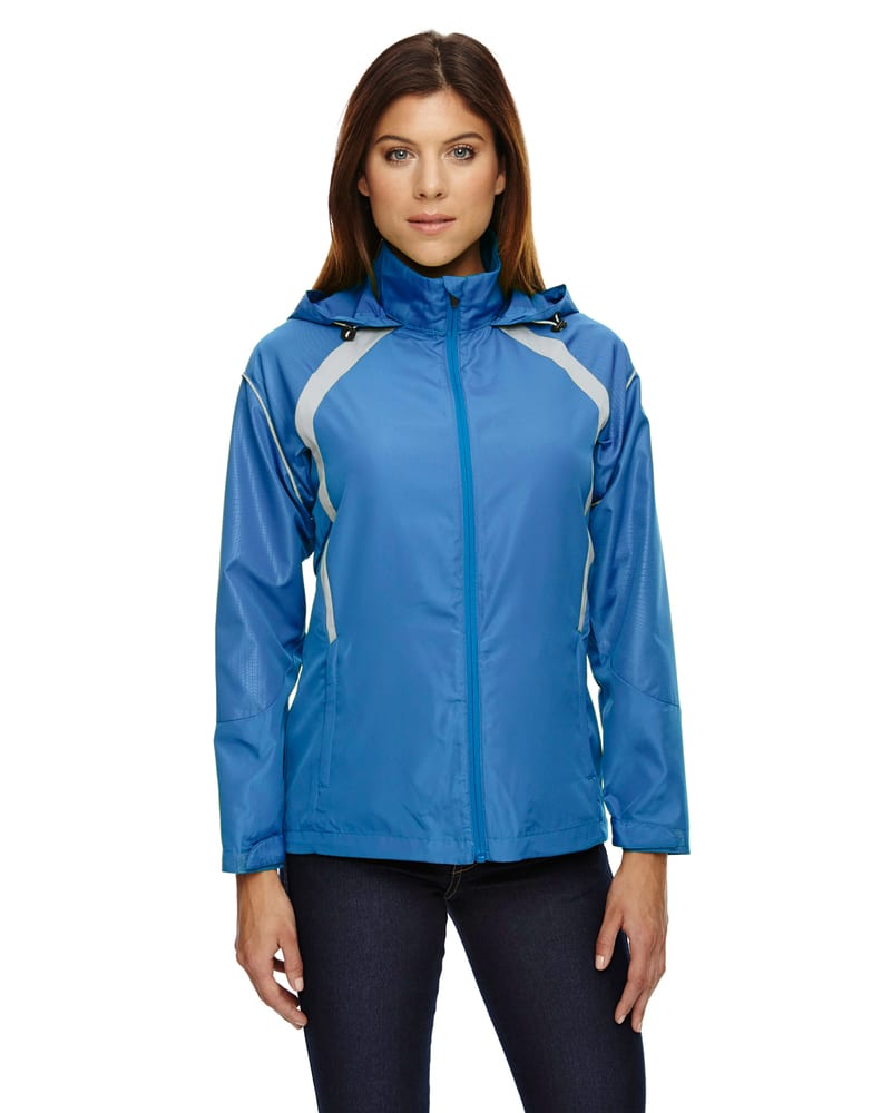 Ash City North End 78168 - Sirius Ladies' Lightweight Jacket With Embossed Print