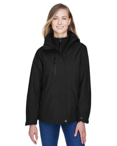 Ash City North End 78178 - Caprice Ladies 3-In-1 Jacket With Soft Shell Liner