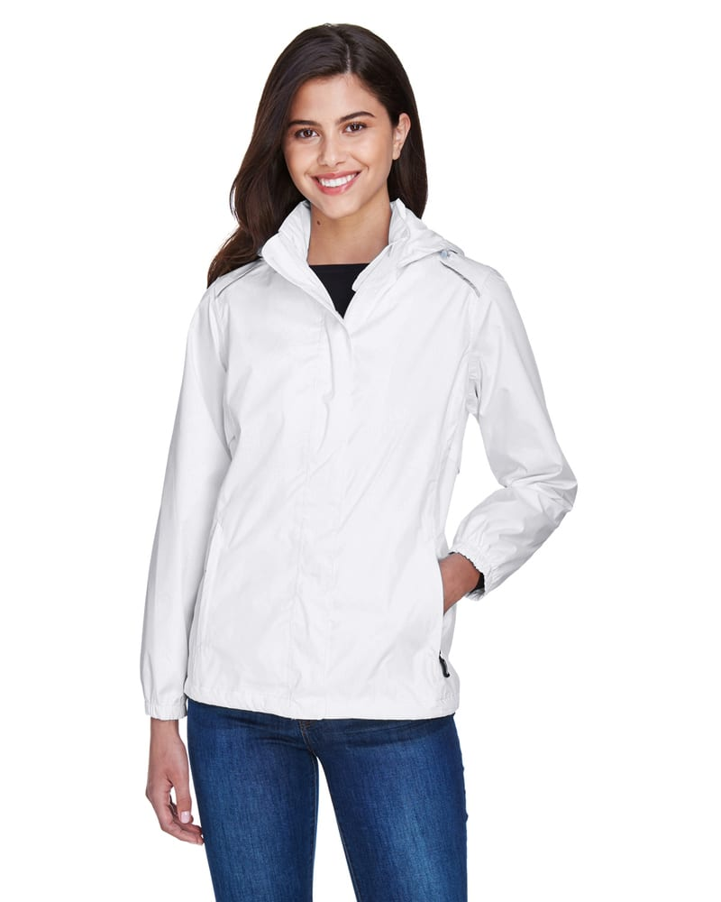 Ash City Core 365 78185 - Climate TmLadies' Seam-Sealed Lightweight Variegated Ripstop Jacket