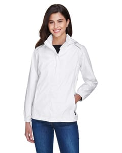 Ash City Core 365 78185 - Climate Tm Ladies Seam-Sealed Lightweight Variegated Ripstop Jacket