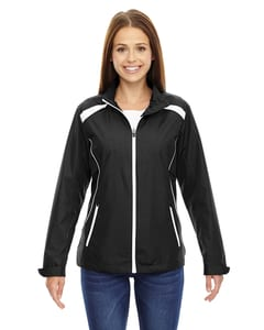 Ash City North End 78188 - Tempo Jacket Ladies Lightweight Recycled Polyester Jacket With Embossed Print