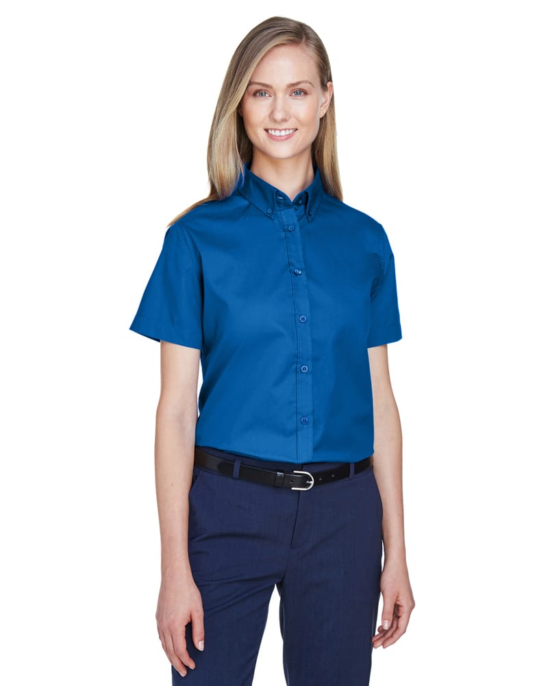 Ash City Core 365 78194 - Optimum Core 365™ Ladies' Short Sleeve Twill Shirts