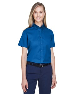 Ash City Core 365 78194 - Optimum Pour Femme Chemises En Twill Core 365™ À Manches Courtes