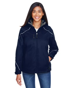 Ash City North End 78196 - ANGLELADIES3-in-1 JACKET WITH BONDED FLEECE LINER