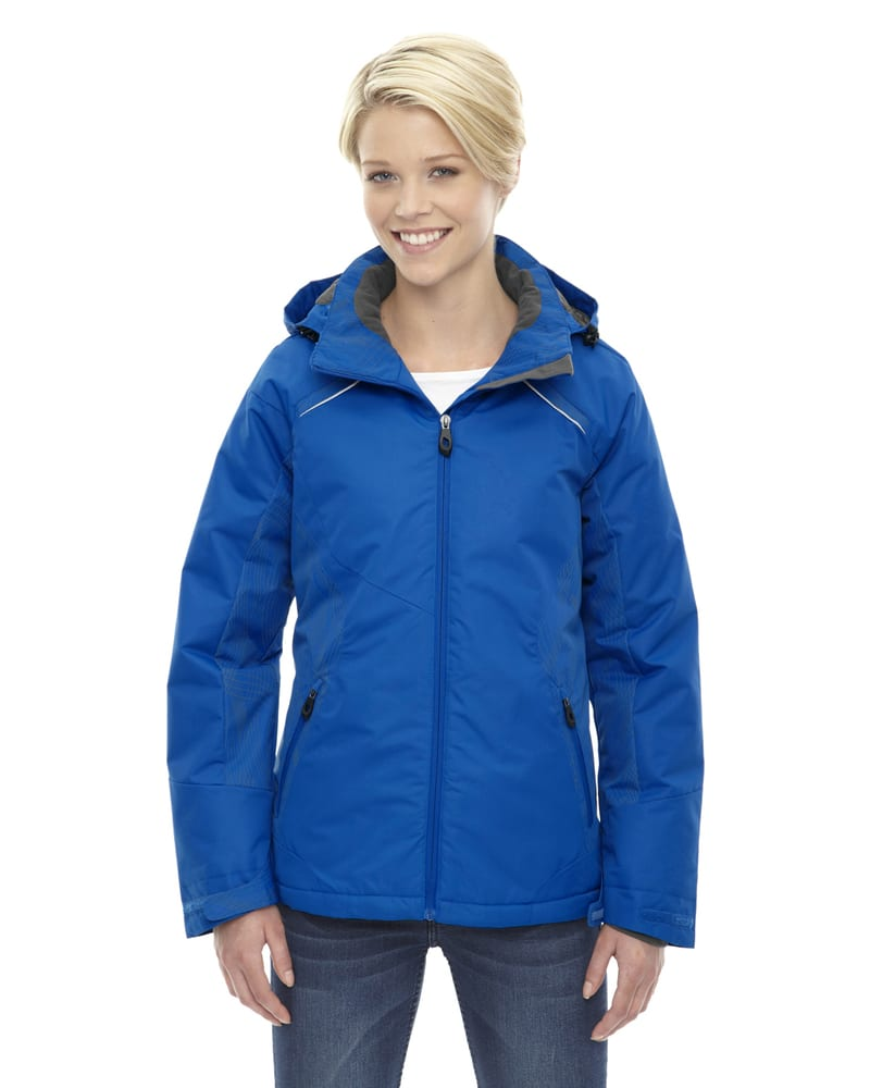 Ash City North End 78197 - Linear Ladies' Insulated Jackets With Print