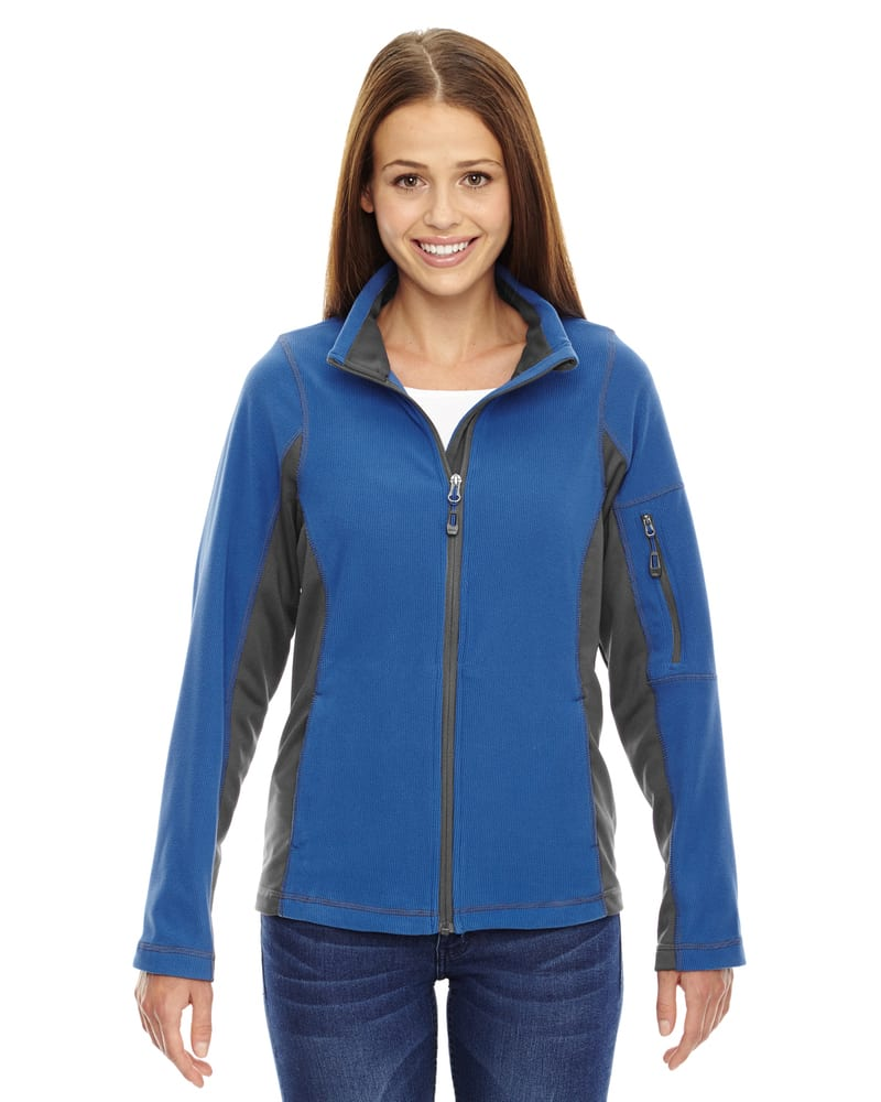Ash City North End 78198 - Generate Ladies' Textured Fleece Jackets