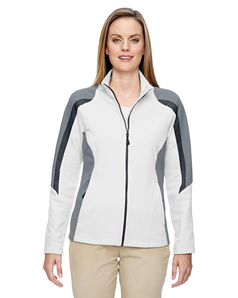 Ash City North End 78201 - Strike Ladies' Colour-Block Fleece Jacket
