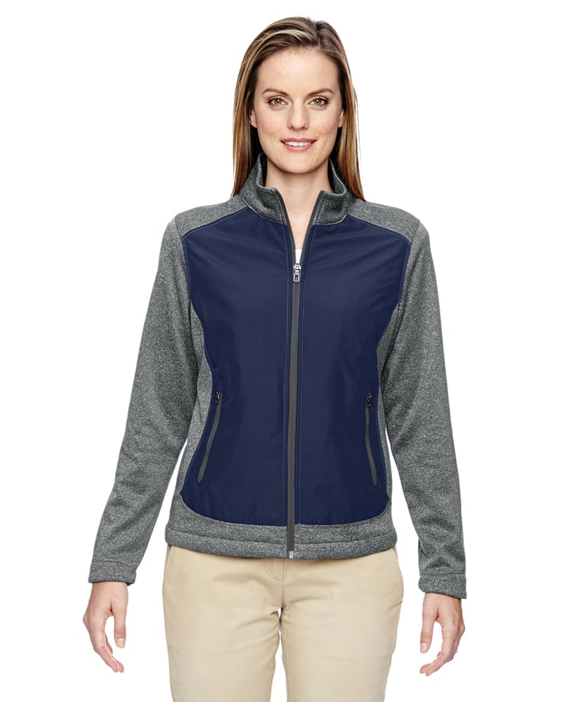 Ash City North End 78202 - Victory Ladies Hybrid Performance Fleece Jacket