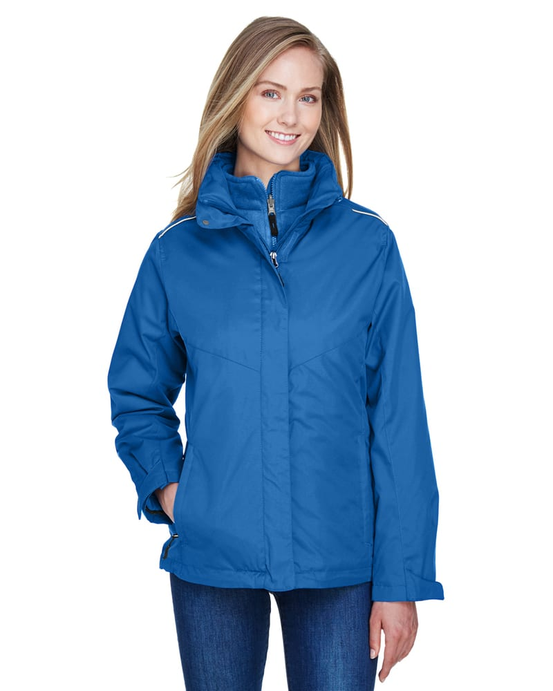 Ash City Core 365 78205 - Region Ladies' 3-In-1 Jackets With Fleece Liner