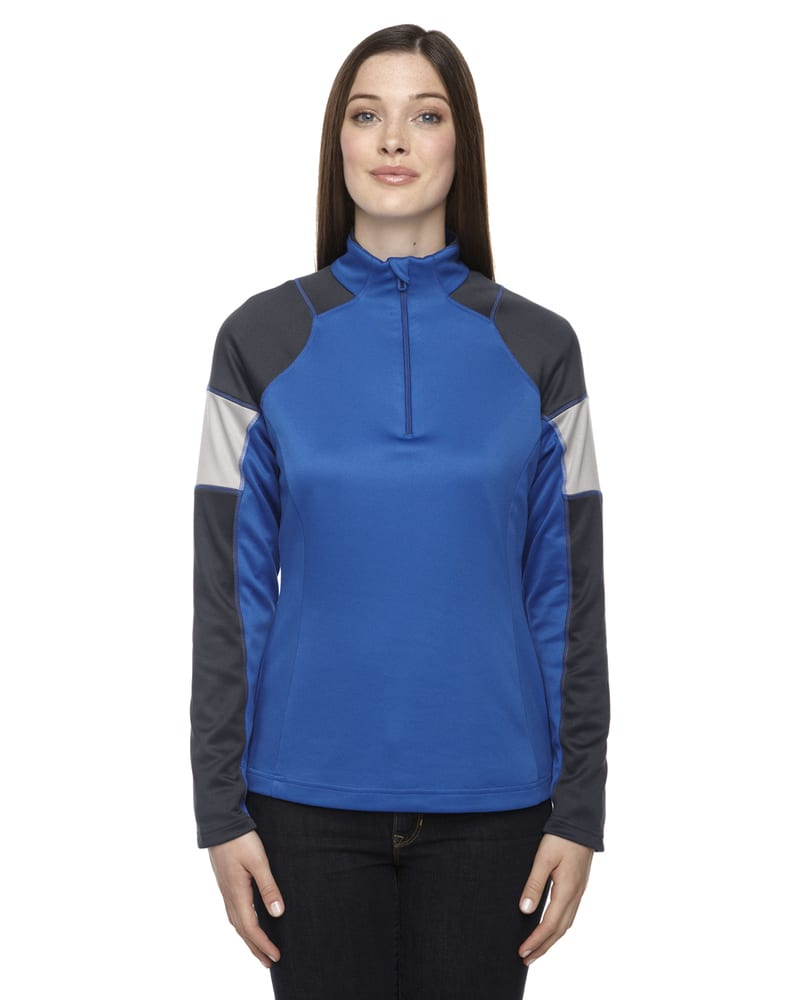 Ash City North End 78214 - Quick Ladies' Performance Interlock Half-Zip Tops