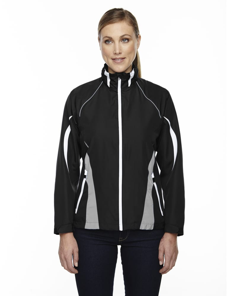 Ash City North End 78644 - Impact Ladies' Active Lite Color-Block Jacket
