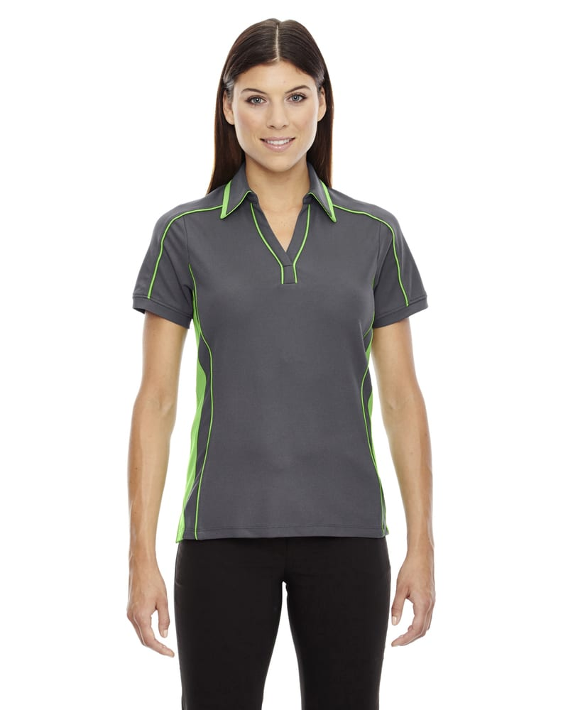 Ash City North End 78648 - SonicLadies' Performance Polyester Pique Polo