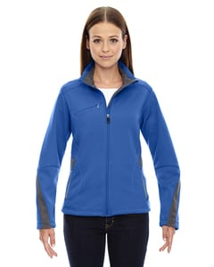 Ash City North End 78649 - Escape Manteau En Molleton Contrecollé Pour Femme
