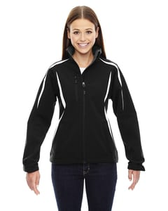 Ash City North End 78650 - Enzo Ladies Color-Block Soft Shell Jacket