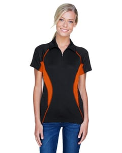 Ash City North End 78657 - SERAC LADIES UTK cool.logikTM PERFORMANCE ZIPPERED POLO