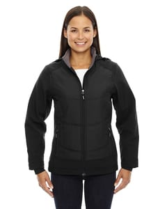 Ash City North End 78661 - Neo Ladies Insulated Hybrid Soft Shell Jackets