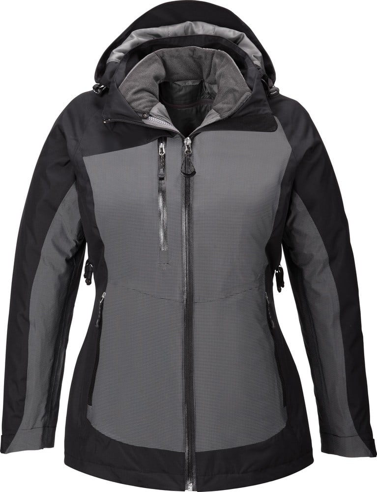 Ash City North End 78663 - Alta Ladies' 3-In-1 Seam-Sealed Jacket With Insulated Liner