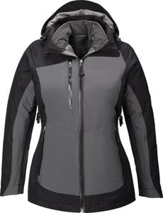 Ash City North End 78663 - Alta Ladies 3-In-1 Seam-Sealed Jacket With Insulated Liner