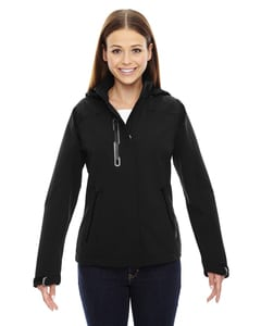 Ash City North End 78665 - Axis Ladies Soft Shell Jacket With Print Graphic Accents