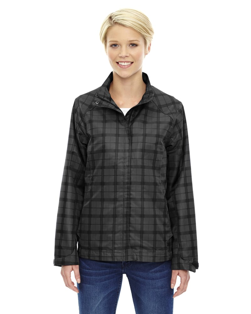 Ash City North End 78671 - Locale Ladies' Lightweight City Plaid Jacket