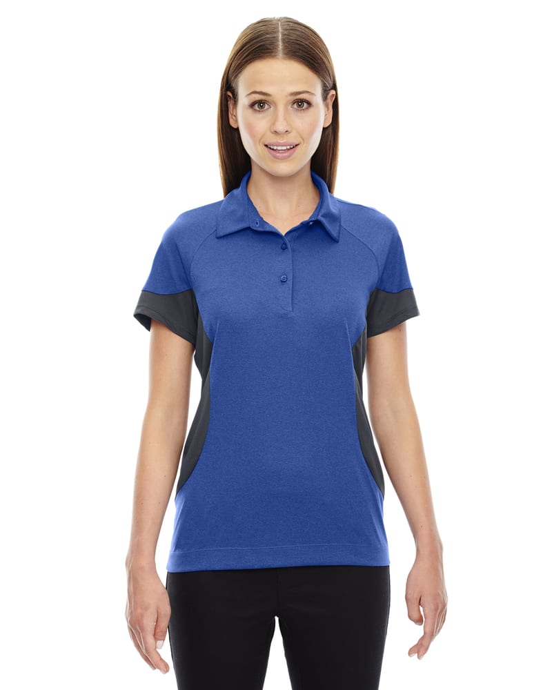 Ash City North End 78677 - REFRESH LADIES' UTK cool.logikTM PERFORMANCE MELANGE JERSEY POLO