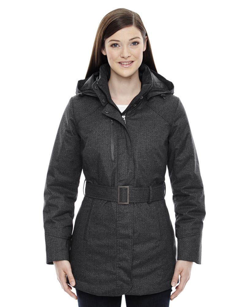 Ash City North End 78684 - Enroute Ladies'Textured Insulated Jackets With Heat Reflect Technology