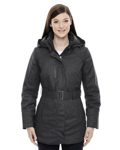 Ash City North End 78684 - Enroute Ladies Textured Insulated Jackets With Heat Reflect Technology