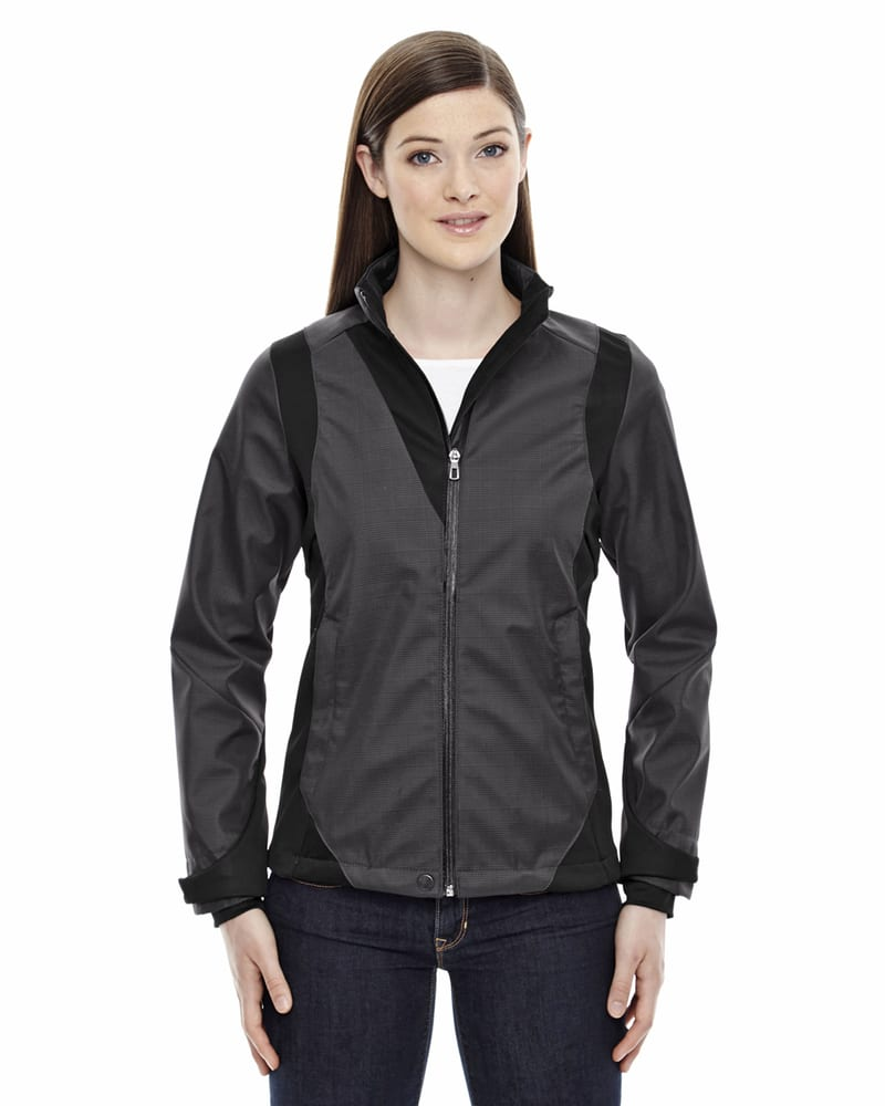 Ash City North End 78686 - Commute Ladies'3-Layer Light Bonded Two-Tone Soft Shell Jackets With Heat Reflect Technology
