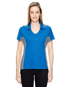 Ash City North End 78691 - REFLEX LADIES UTK cool.logik PERFORMANCE EMBOSSED PRINT POLOS