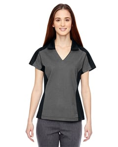 Ash City North End 78692 - Merge Ladies Cotton Blend Melange Polo