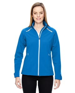 Ash City North End 78693 - Excursion Ladies Soft Shell Jacket With Laser Stitch Accents