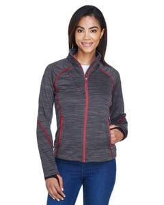 Ash City North End 78697 - Flux Ladies Melange Bonded Fleece Jackets
