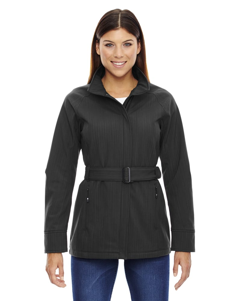 Ash City North End 78801 - Skyscape Ladies' 3-Layer Textured Two Tone Soft Shell Jackets