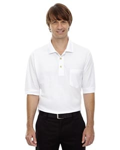 Ash City Extreme 85016 - Mens Extreme Cotton Blend Pique Polo With Pocket