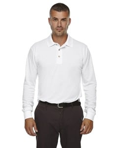 Ash City Extreme 85077 - Mens Long Sleeve Extreme Pique Polo With Teflon®