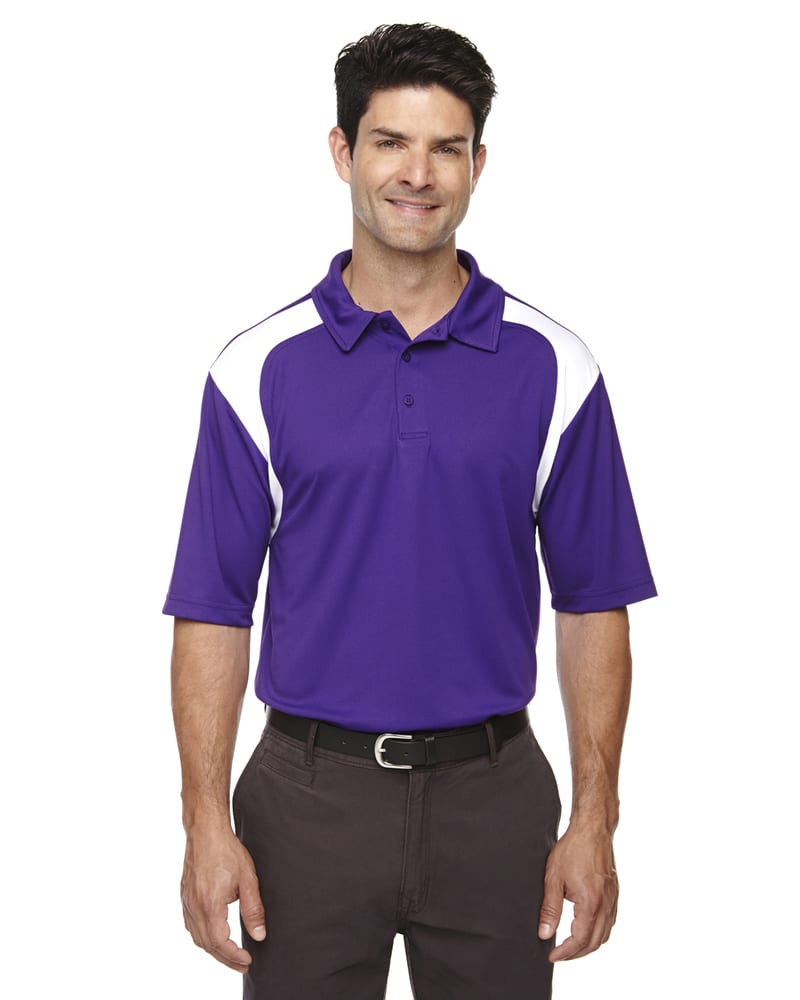Ash City Extreme 85105 - Men's Eperformance™ Color-Block Textured Polo