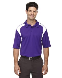 Ash City Extreme 85105 - Mens Eperformance™ Color-Block Textured Polo