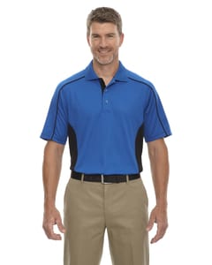 Ash City Extreme 85113T - Fuse Polos Mens Snag Protection Plus Color-Block Polos