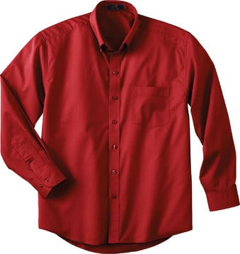 Ash City Vintage 87015T - Men's Tall Long Sleeve Easy Care Twill Shirt