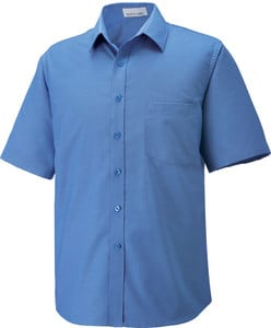Ash City North End 87039 - Maldon Mens Short Sleeve Oxford Shirt