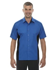 Ash City North End 87042T - Fuse Mens Color-Block Twill Shirts