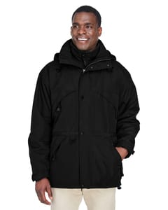 Ash City North End 88007 - Mens 3-In-1 Techno Series Parka With Dobby Trim