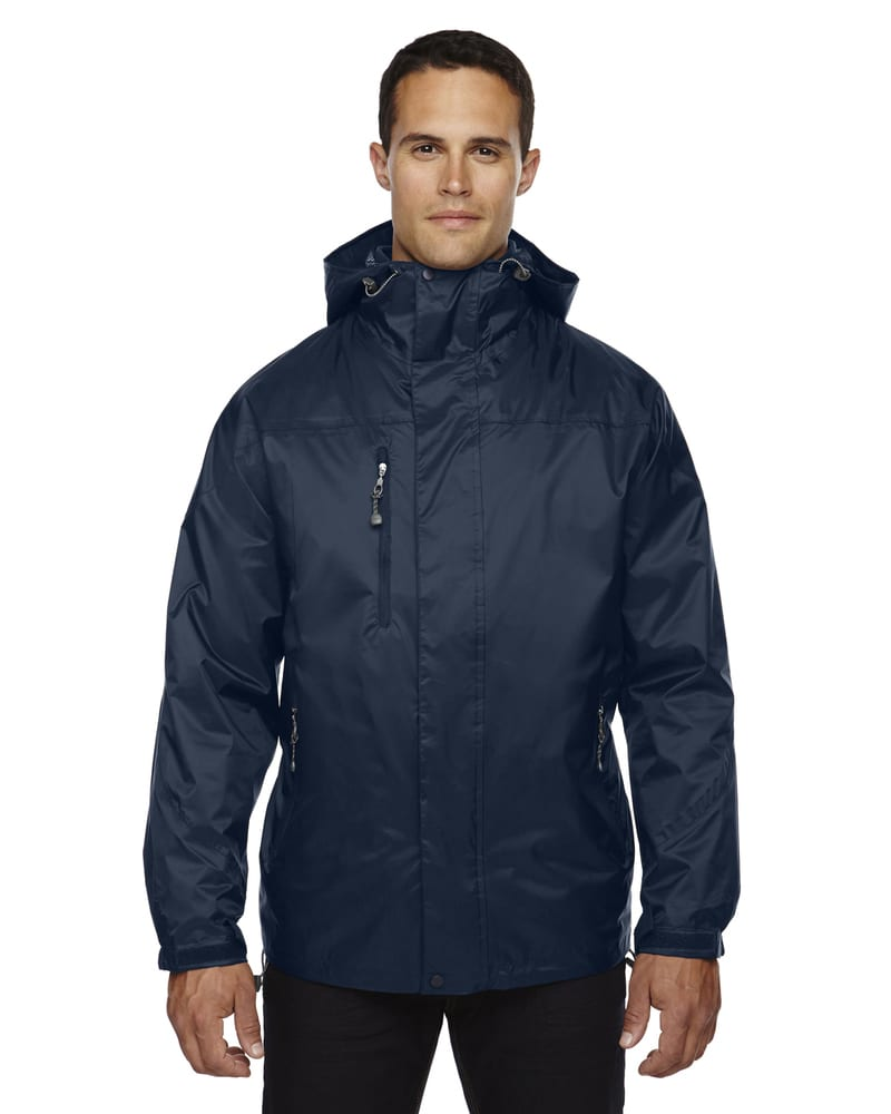 Ash City North End 88120 - Men's 3-In-1 Techno Performancetm Seam-Sealed Hooded Jacket