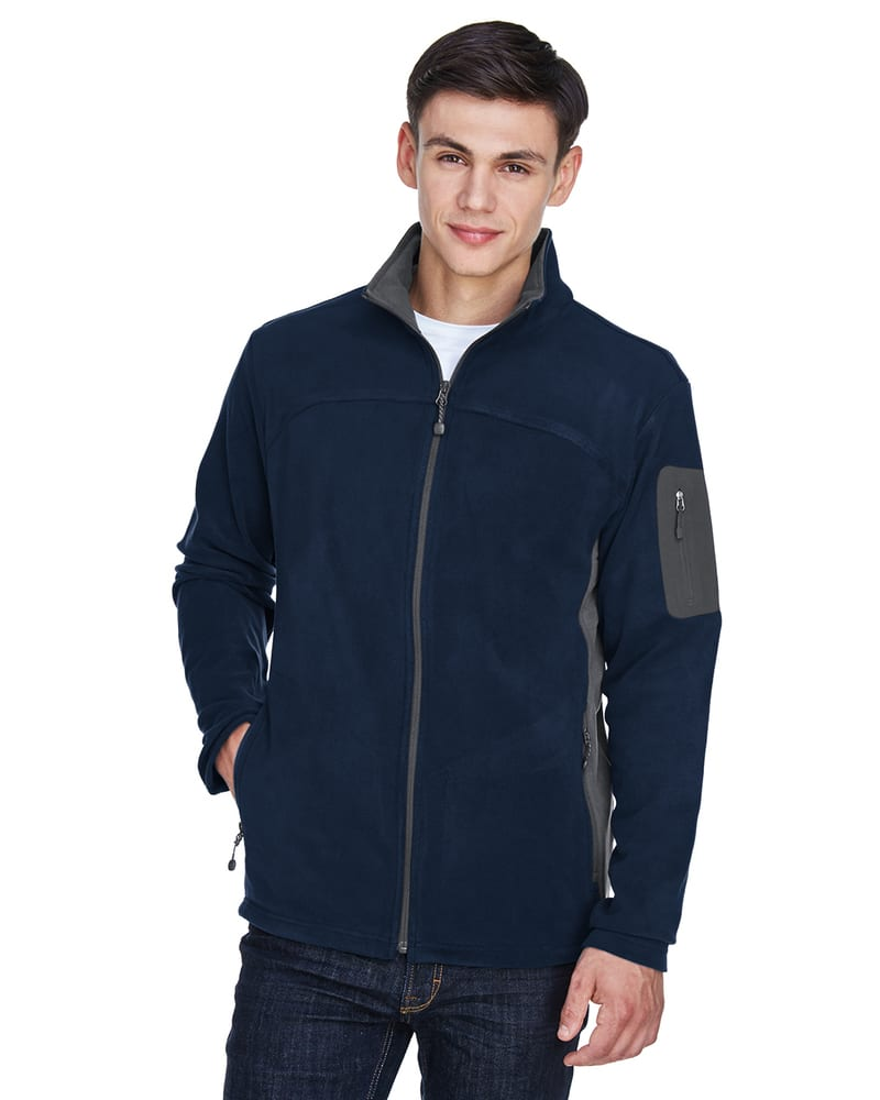 Ash City North End 88123 - Men's Full-Zip Microfleece Jacket