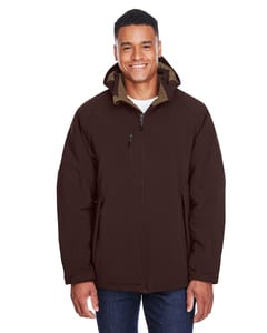 Ash City North End 88159 - Glacier Mens Insulated Soft Shell Jacket With Detachable Hood