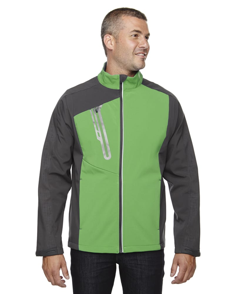 Ash City North End 88176 - Terrain Men's Color-Block Soft Shell With Embossed Print