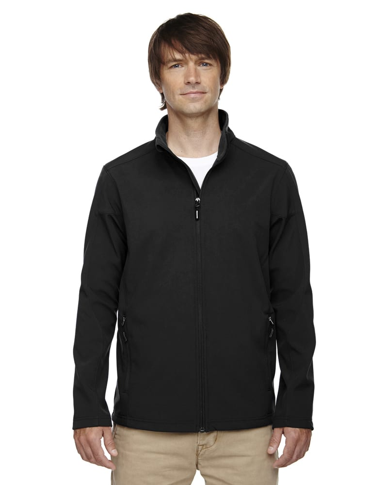 Ash City Core 365 88184T - Cruise Tm Men's Tall 2-Layer Fleece Bonded Soft Shell Jacket
