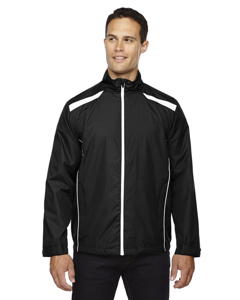 Ash City North End 88188 - Tempo Jacket Men's Lightweight Recycled Polyester Jacket With Embossed Print